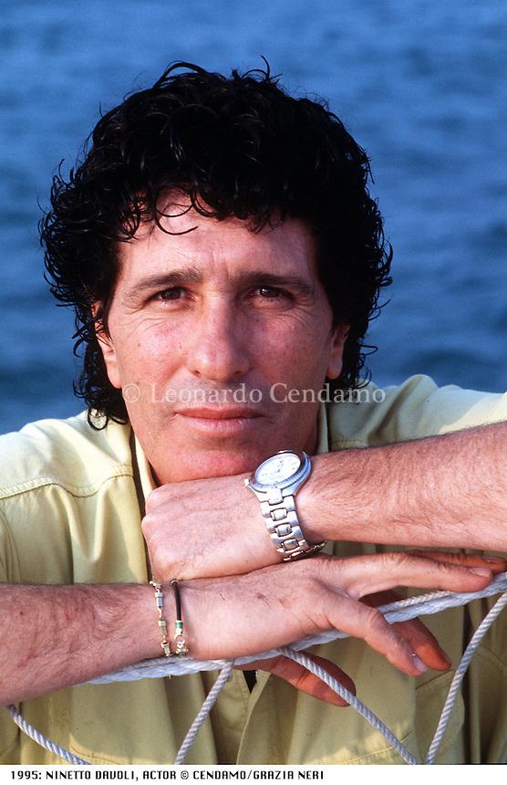 1995: NINETTO DAVOLI, ACTOR © Leonardo Cendamo