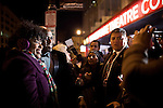 Wayne Brady greets fans outside the Hip-Hop Inaugural Ball, January 20, 2013 in Washington, DC.