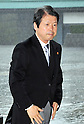 September 2, 2011, Tokyo, Japan - Hideo Hiraoka, newly-appointed minister of Justice, arrives for an attestation ceremony before Emperor Akihito at the Imperial Palace in Tokyo on Friday, September 2, 2011. (Photo by Natsuki Sakai/AFLO) [3615] -mis-