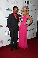 LOS ANGELES, CA - NOV 11: Reggie Benjamin,  Iwona Burnat attends the first annual Vanderpump Dog Foundation Gala hosted and founded by Lisa Vanderpump, Taglyan Cultural Complex, Los Angeles, CA, November 3, 2016. (Credit: Parisa Afsahi/MediaPunch).