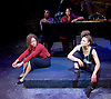 The Etienne Sisters<br /> Written by Ch&egrave; Walker<br /> Songs by Anoushka Lucas at the Theatre Royal Stratford East, London, Great Britain <br /> Press Photocall<br /> 15th September 2015 <br /> <br /> Allyson Ava-Brown as Bo <br /> <br /> Jennifer Saayeng as Ree <br /> <br /> Nina Toussaint-White as Tree  <br /> <br /> Nikki Yeoh - piano <br /> <br /> <br /> Photograph by Elliott Franks <br /> Image licensed to Elliott Franks Photography Services