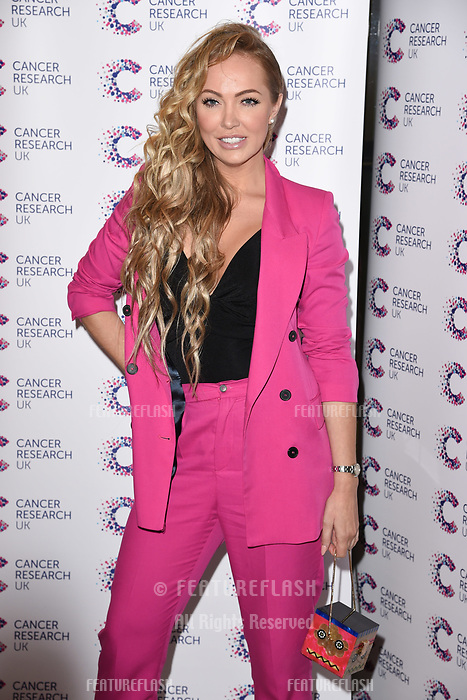Aisleyne Horgan-Wallace arriving at James Ingham&rsquo;s Jog On to Cancer, in aid of Cancer Research UK at The Roof Gardens in Kensington, London.  <br /> 12 April  2017<br /> Picture: Steve Vas/Featureflash/SilverHub 0208 004 5359 sales@silverhubmedia.com