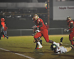 Lafayette High's D.K. Buford (2) scores vs. Tunica Rosa Fort in Oxford, Miss. on Friday, October 5, 2012. Lafayette High won 35-6.