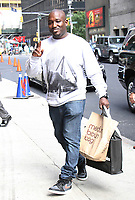 NEW YORK, NY - MAY 24: Hannibal Buress seen at The Late Show With Stephen Colbert in New York City on May 24, 2017. Credit: RW/MediaPunch