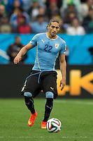 Martin Caceres of Uruguay