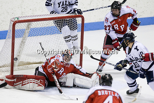 Allen York (RPI - 30), Marty O'Grady (RPI - 27), Kevin Limbert (Yale - 10) - The Rensselaer Polytechnic Institute (RPI) Engineers defeated the Yale University Bulldogs 4-0 on Saturday, January 30, 2010, at Ingalls Rink in New Haven, Connecticut.