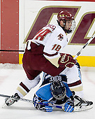 Kyle Kucharski (BC 18), Nathan Boike (Maine 36) - The Boston College Eagles and University of Maine Black Bears played to a 1-1 tie on Friday, November 2, 2007, at Kelley Rink at Conte Forum in Chestnut Hill, Massachusetts.