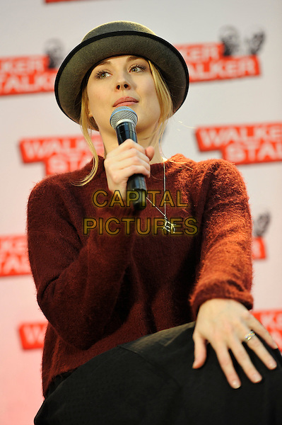 LONDON, ENGLAND - FEBRUARY 21: Alexandra Breckenridge attending 'Walker Stalker Con 2015' at Olympia in London on February 21, 2016 in London, England.<br /> CAP/MAR<br /> &copy; Martin Harris/Capital Pictures
