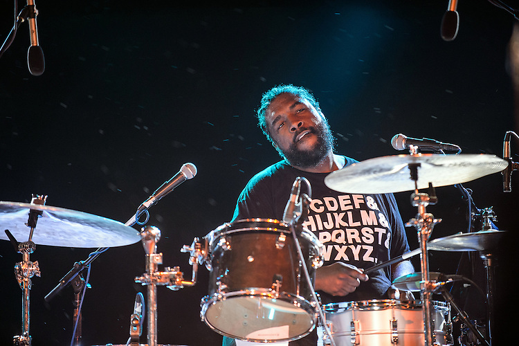 September 8, 2012. Raleigh, NC. The Roots perform at the Raleigh City Plaza as part of the 2012 Hopscotch Music Festival in Raleigh, NC.