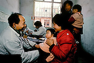 April 15th, 1989, Poyang, Jiangxi Province, China: daily life, city infirmary where people go without appointments.