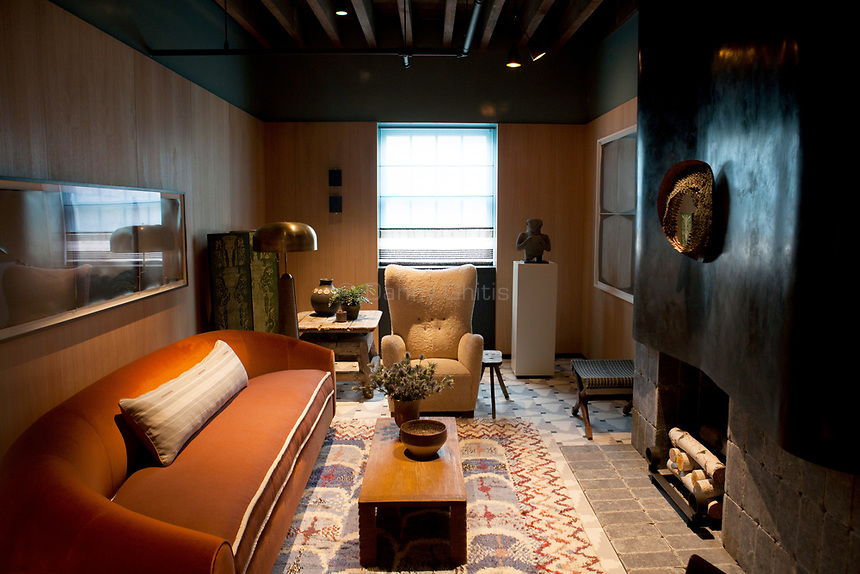Design by Neal Beckstedt Studio at the 45th Kips Bay Decorator Show House, at 125 East 65th St. <br /> <br /> Danny Ghitis for The New York Times