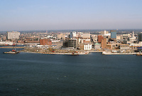 1983 February 10..Redevelopment.Downtown South (R-9)..WATERFRONT PANORAMA FROM PORTSMOUTH...NEG#.NRHA#..