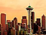 Portland, Mt. Hood and Seattle - G/L - 3/16