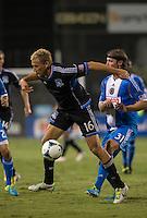 Santa Clara, California -Saturday, September, 2013: San Jose Earthquakes defeated Philadelphia Union 1 - 0 at Buck Shaw Stadium