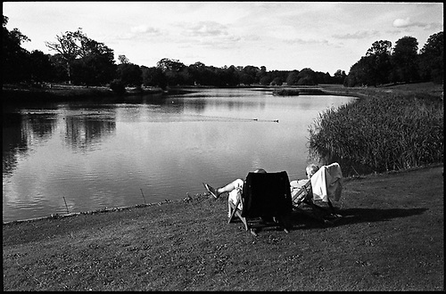 Autumn Sunbathers, Blickling Estate, Norfolk by Paul Cooklin