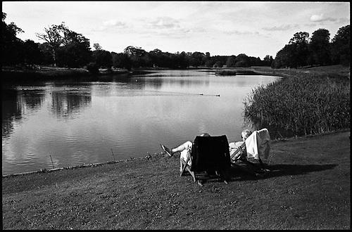 Autumn Sunbathers, Blickling Estate, Norfolk by Paul Cooklin