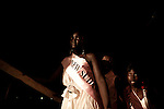Contestants  participate in the 5th annual Miss Malaika 2010 beauty pageant parade in Juba, southern Sudan. The pageant features a mix of traditional cutural activities and modeling.