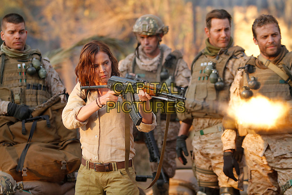 Tanya van Graan, Lex Shrapnel<br /> in Seal Team Eight: Behind Enemy Lines (2014) <br /> *Filmstill - Editorial Use Only*<br /> CAP/FB<br /> Image supplied by Capital Pictures