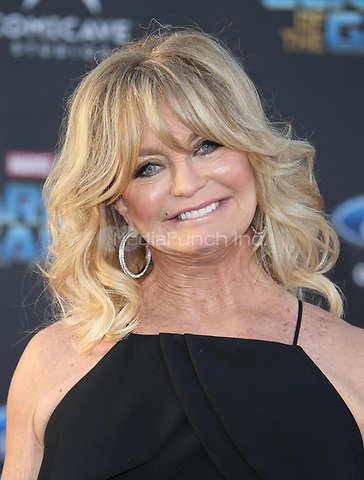 """HOLLYWOOD, CA - April 19: Goldie Hawn, At Premiere Of Disney And Marvel's """"Guardians Of The Galaxy Vol. 2"""" At The Dolby Theatre  In California on April 19, 2017. Credit: FS/MediaPunch"""