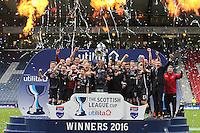 Hibernian v Ross County Scottish League Cup Final 130316