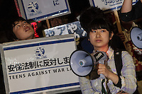 2016 T-nsSOWL Teenager protest in Tokyo