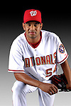 25 February 2007: Washington Nationals pitcher Beltran Perez poses for his Photo Day portrait at Space Coast Stadium in Viera, Florida.<br /> <br /> Mandatory Photo Credit: Ed Wolfstein Photo<br /> <br /> Note: This image is available in a RAW (NEF) File Format - contact Photographer.