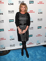 Kathy Hilton.Bravo's Andy Cohen's Book Release Party For &quot;Most Talkative: Stories From The Front Lines Of Pop Held at SUR Lounge, West Hollywood, California, USA..May 14th, 2012.full length black  dress leather .CAP/ADM/KB.&copy;Kevan Brooks/AdMedia/Capital Pictures.