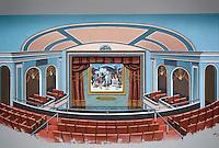 1996 December ..Rehabilitation..Attucks Theatre.Church Street..RENDERING.NEW STAGE & BALCONY...NEG#.NRHA#..