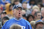 A UK fan boos a call made during the second half of the University of Kentucky vs. Vanderbilt University football game at Vanderbilt Stadium in Nashville, Tenn., on Saturday, November 16, 2013. Vanderbilt won 22-6. Photo by Tessa Lighty | Staff