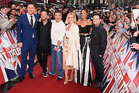 David Walliams, Ant McPartlin, Simon Cowell, Ant McPartlin Amanda Holden, Alesha Dixon &amp; Declan Donnelley at the Britain's Got Talent - London Auditions at the London Palladium, London, UK. <br /> 29th January  2017<br /> Picture: Steve Vas/Featureflash/SilverHub 0208 004 5359 sales@silverhubmedia.com