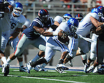 Kentucky's Derrick Locke (20) scores a touchdown as Ole Miss linebacker Mike Marry (52) defends at Vaught-Hemingway Stadium in Oxford, Miss. on Saturday, October 2, 2010. Ole Miss won 42-35 to improve to 3-2..