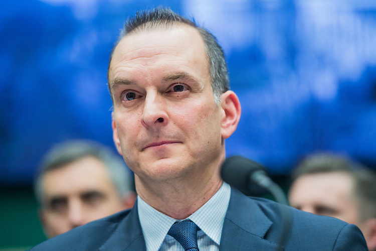 UNITED STATES - FEBRUARY 28: Travis Tygart, CEO of the U.S. Anti-Doping Agency, appears during a House Energy and Commerce Subcommittee on Oversight and Investigations hearing in Rayburn Building on ways to strengthen the international anti-doping system, February 28, 2017. (Photo By Tom Williams/CQ Roll Call)