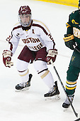 Steven Whitney (BC - 21) - The Boston College Eagles defeated the University of Vermont Catamounts 4-1 on Friday, February 1, 2013, at Kelley Rink in Conte Forum in Chestnut Hill, Massachusetts.