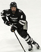 Brandon Duhaime (PC - 9) - The Harvard University Crimson defeated the Providence College Friars 3-0 in their NCAA East regional semi-final on Friday, March 24, 2017, at Dunkin' Donuts Center in Providence, Rhode Island.