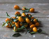 Gastronomie: Kumquats  // Gastronomy: Kumquats<br /> <br />  - Stylisme : Val&eacute;rie LHOMME