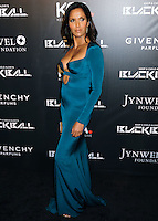 NEW YORK CITY, NY, USA - OCTOBER 30: Padma Lakshmi arrives at the 11th Annual Keep A Child Alive Black Ball held at the Hammerstein Ballroom on October 30, 2014 in New York City, New York, United States. (Photo by Celebrity Monitor)