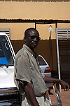 Kouyate, driver, Bamako..What do you think about Barak Obama? &quot;Black is a beautiful colour. Obama has a nice spirit. He will end wars. We don't to have wars in the world.&quot;