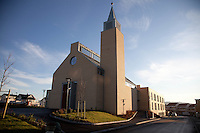 The church at the new bridgettine convent in Trondheim.