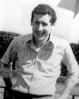 Kenneth Worton, 24 years, married, two children, from Bessbrook, Co Armagh, who died 5th January 1976 when 10 Protestant workmen were gunned down by the Republican Action Force in what became known as the  Kingsmills Massacre or the Whitecross Massacre.  The Republican Action Force was widely considered to be an alias for the Provisional IRA retaliating for the earlier killing of members of two local Roman Catholic families by loyalist paramilitaries. 197601060017<br /> <br /> Copyright Image from Victor Patterson, 54 Dorchester Park, <br /> Belfast, UK, BT9 6RJ<br /> <br /> t1: +44 28 9066 1296 (from Rep of Ireland 048 9066 1296)<br /> t2: +44 28 9002 2446 (from Rep of Ireland 048 9002 2446)<br /> m: +44 7802 353836<br /> <br /> e1: victorpatterson@me.com<br /> e2: victorpatterson@gmail.com<br /> <br /> www.victorpatterson.com<br /> <br /> Please see my Terms and Conditions of Use at www.victorpatterson.com. It is IMPORTANT that you familiarise yourself with them.<br /> <br /> Images used on the Internet must be visibly watermarked i.e. &copy; Victor Patterson within the body of the image and copyright metadata must not be deleted. Images used on the Internet have a size restriction of 4kbs and will be chargeable at current NUJ rates unless agreed otherwise.<br /> <br /> This image is only available for the use of the download recipient i.e. television station, newspaper, magazine, book publisher, etc, and must not be passed on to any third party. It is also downloaded on condition that each and every usage is notified within 7 days to victorpatterson@me.com<br /> <br /> The right of Victor Patterson to be identified as the author is asserted in accordance with The Copyright Designs And Patents Act (1988).
