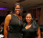 Waterbury, CT 022617MK03  Taj McWilliams and Patrice McCaskey gathered during the Post University Second Annual Black Excellence Ball at the Black Student Union. The event commemorated the second anniversary of the newly revived Post University BSU.   Michael Kabelka / Republican-American