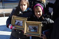 American Airline Flight 587 Memorial held at Far Rockaway Beach on November 12, 2010 in Queens, NY