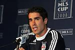 2008.11.22 MLS: Juan Pablo Angel Press Conference