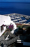 Villa overlooking the harbour of Los Gigantes,Tenerife, Canary Islands, Spain