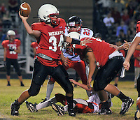 Mountain Air vs Menaul Friday night September 2, 2011 at Menaul School. .Albuquerque, New Mexico. ( Roberto E. Rosales/Albuquerque Journal.)