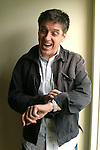 CRAIG FERGUSON , host of the CBS show The Late Late Show with Craig Ferguson. The Scottish-American comedian, actor, and talk show host photographed in his CBS Television City office in February 2005..