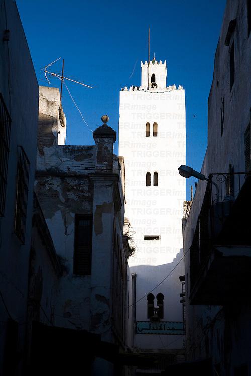 Minaret, medina of Tetouan, Morocco