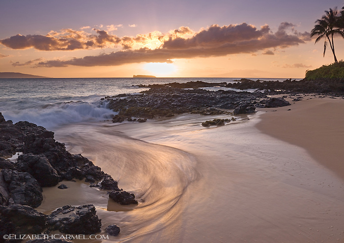 Maui Sunset, Secret Beach