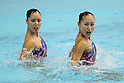 (L to R) Yukiko Inui (JPN), Chisa Kobayashi (JPN), JULY 9, 2011 - Synchronized Swimming : Yukiko Inui and Chisa Kobayashi of Japan perform during the duet technical routine Exhibition at Tatsumi International pool in Tokyo, Japan. (Photo by Yusuke Nakanishi/AFLO SPORT) [1090]