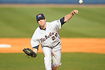 Ole Miss' Matt Tracy (29) pitches vs. Memphis at Oxford University Stadium in Oxford, Miss. on Tuesday, February 22, 2011.