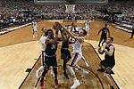 during the 2017 NCAA Men's Final Four Semifinal at University of Phoenix Stadium on April 1, 2017 in Glendale, Arizona.